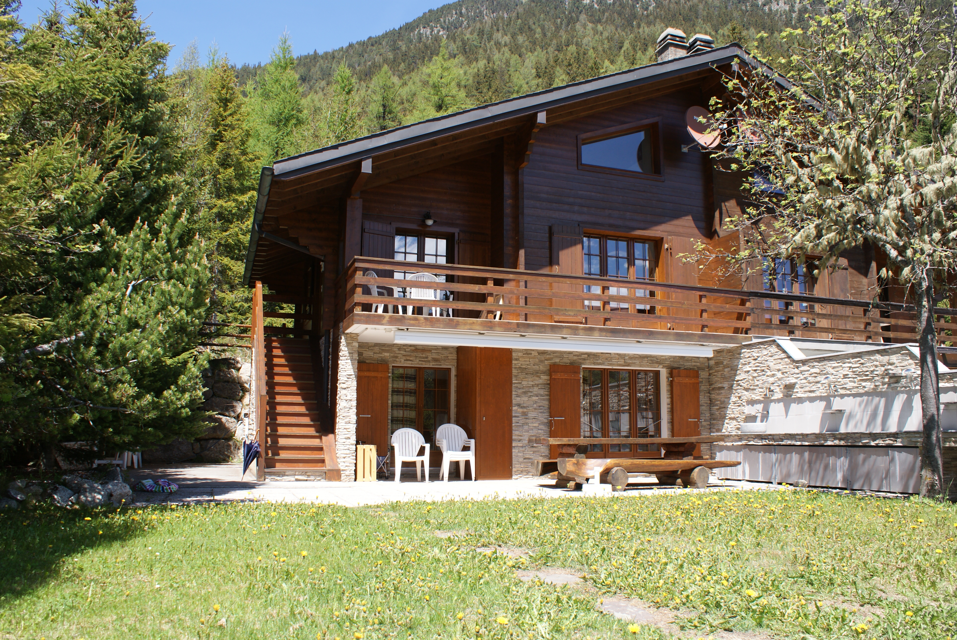 Chalet mitoyen (8pers.)